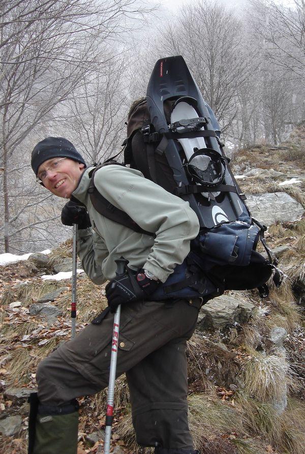 winterlicher Aufstieg ins Val Grande